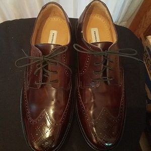 👞Genuine Pronto Uomo Italian Leather Oxfords 👞